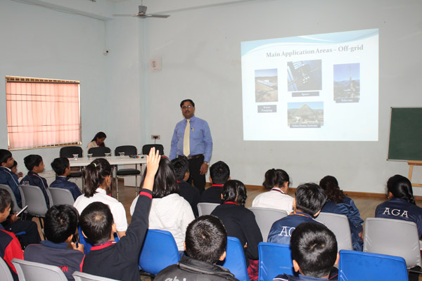 Guest Lecture by Mr Dilip Thakur