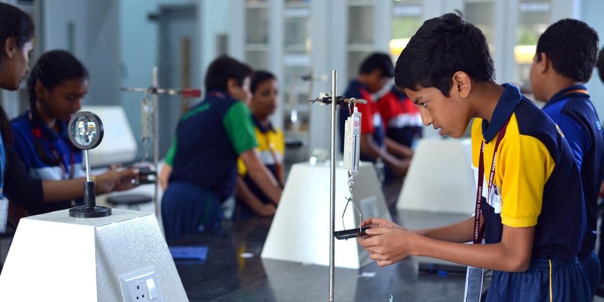 physics lab ashoka school