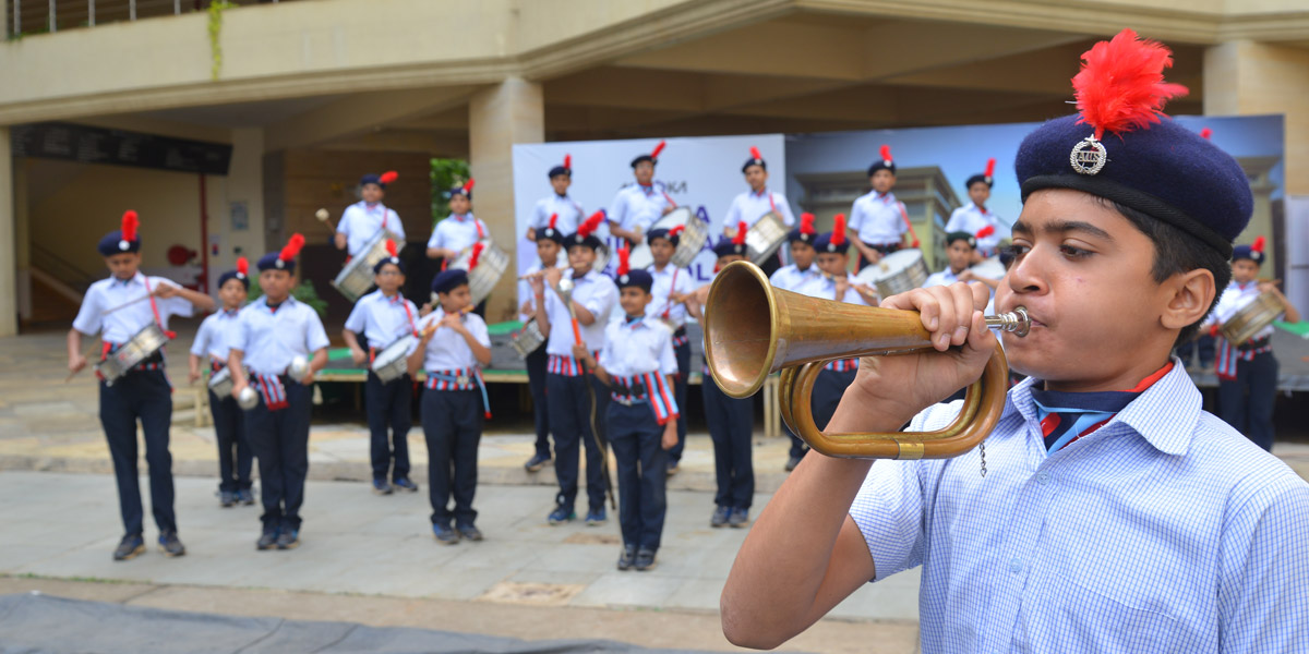 Ashoka school marching band