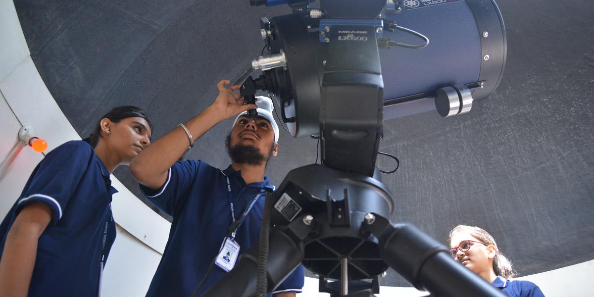 ashoka school astronomical observatory