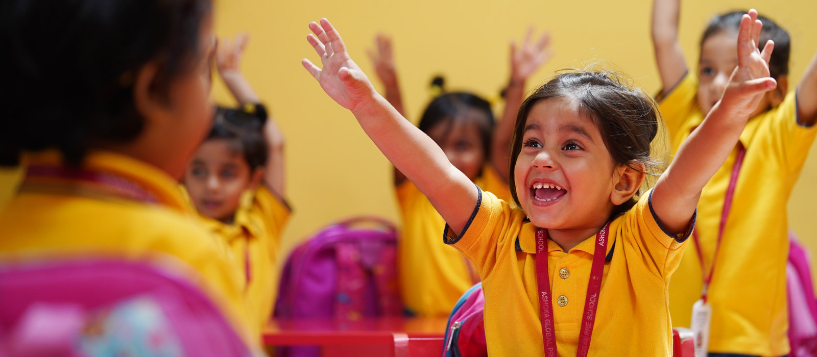 happy kids at ashoka pre school